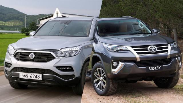 Cùng tầm tiền, chọn Toyota Fortuner hay SsangYong Rexton G4?