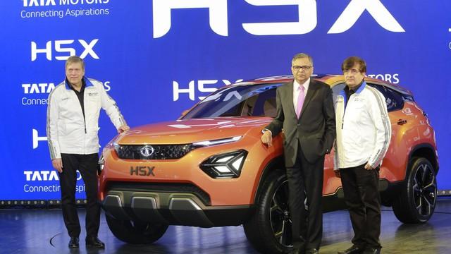 Tata H5X Concept - phiên bản Land Rover Discovery Sport giá rẻ