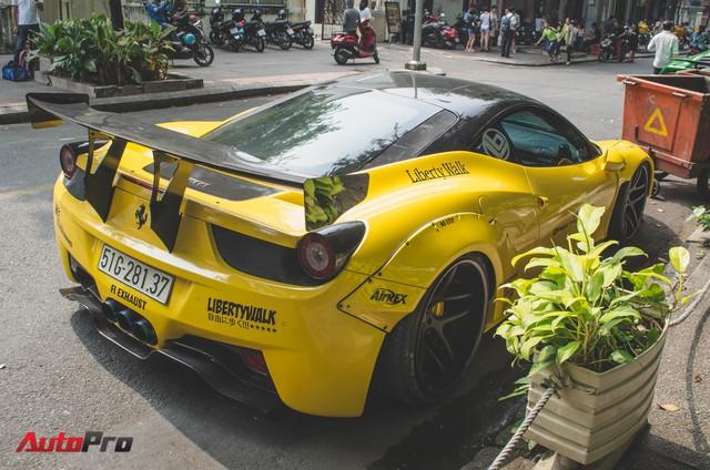 Đại gia Sài Gòn cầm lái siêu xe tụ tập ngày cận Tết - Ảnh 7.