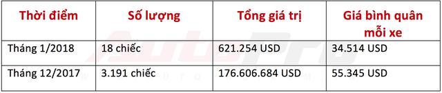 Thấy gì trong 18 ô tô lách được cửa hẹp về Việt Nam đầu năm 2018? - Ảnh 1.
