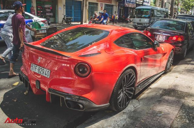 Bộ đôi siêu xe Ferrari làm đẹp đón Tết tại Sài Gòn - Ảnh 4.