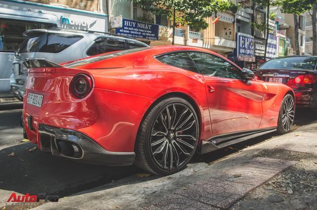 Bộ đôi siêu xe Ferrari làm đẹp đón Tết tại Sài Gòn - Ảnh 3.