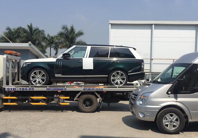 Đại gia Lào Cai nhận xe Range Rover SVAutobiography 20 tỷ chính hãng chơi Tết - Ảnh 4.