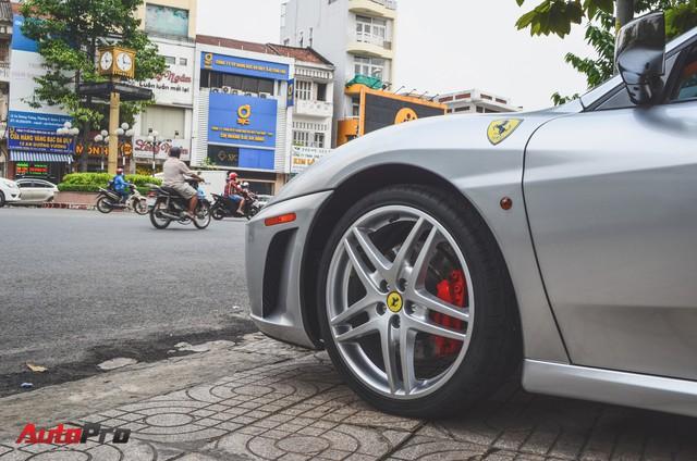 Ông chủ cà phê Trung Nguyên tậu thêm siêu xe Ferrari F430 Spider chơi Tết - Ảnh 7.