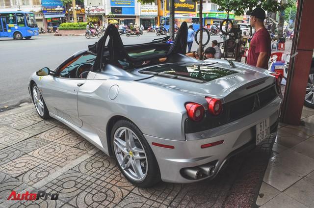 Ông chủ cà phê Trung Nguyên tậu thêm siêu xe Ferrari F430 Spider chơi Tết - Ảnh 3.