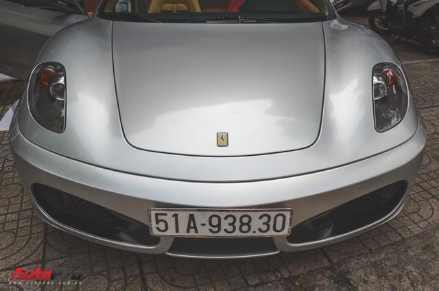 Ông chủ cà phê Trung Nguyên tậu thêm siêu xe Ferrari F430 Spider chơi Tết - Ảnh 2.