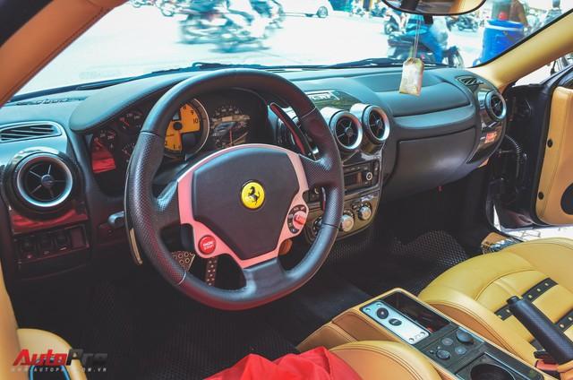 Ông chủ cà phê Trung Nguyên tậu thêm siêu xe Ferrari F430 Spider chơi Tết - Ảnh 8.
