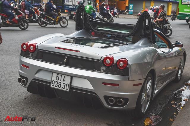 Ông chủ cà phê Trung Nguyên tậu thêm siêu xe Ferrari F430 Spider chơi Tết - Ảnh 11.