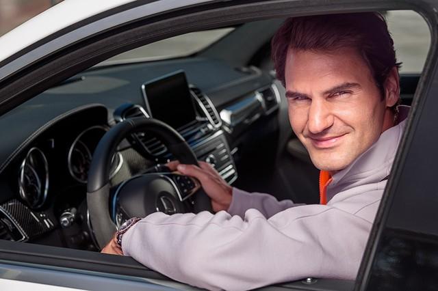 Trở thành gương mặt thương hiệu của Mercedes-Benz, tay vợt Roger Federer bỏ túi thêm 5 triệu USD/năm - Ảnh 1.