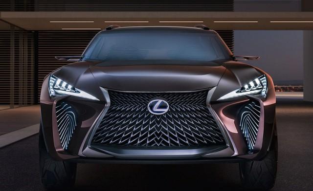 Đối thủ Mẹc GLA - Lexus UX hé lộ thiết kế trước khi ra mắt  - Ảnh 3.