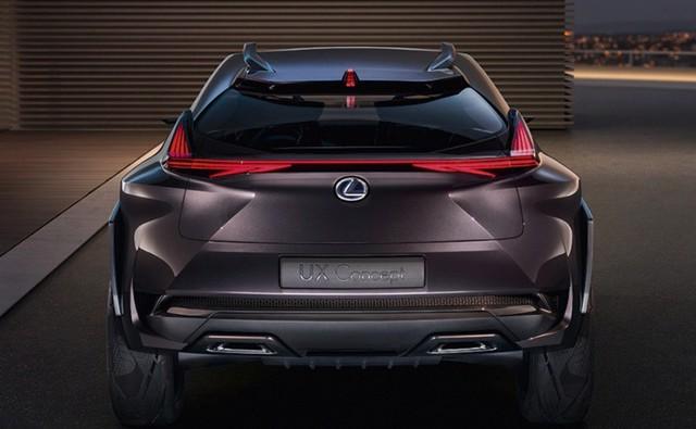 Đối thủ Mẹc GLA - Lexus UX hé lộ thiết kế trước khi ra mắt  - Ảnh 1.