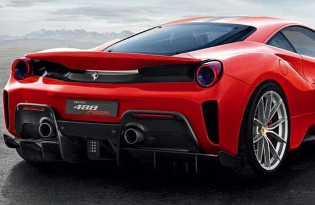 Ferrari 488 hiệu năng cao tiếp tục lộ ảnh và tên gọi mới - Ảnh 3.