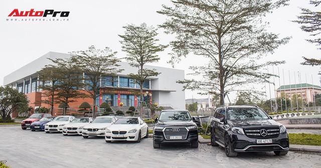 Dàn xe thể thao BMW, Mercedes gặp mặt đầu xuân tại Ninh Bình - Ảnh 1.