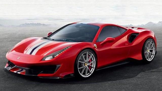 Ferrari 488 hiệu năng cao tiếp tục lộ ảnh và tên gọi mới