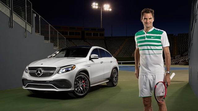 Trở thành gương mặt thương hiệu của Mercedes-Benz, tay vợt Roger Federer bỏ túi thêm 5 triệu USD/năm - Ảnh 2.