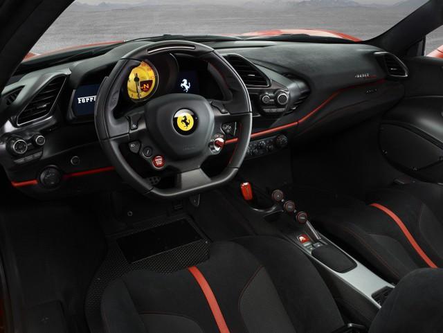Ferrari 488 Pista chính thức lộ diện với hiệu suất vượt trội hơn bản tiêu chuẩn - Ảnh 5.