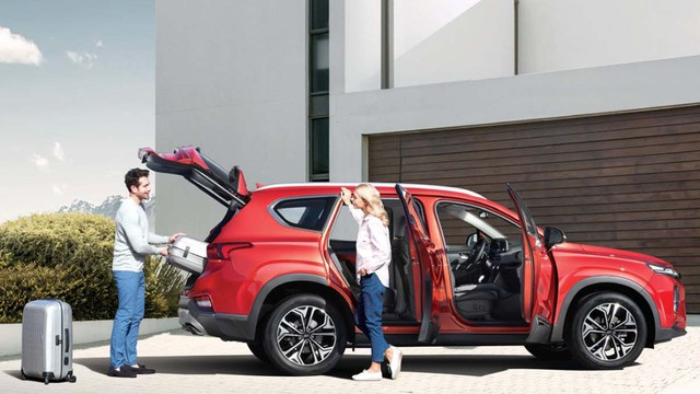 Chi tiết Hyundai Santa Fe thế hệ mới trước giờ ra mắt - Ảnh 4.