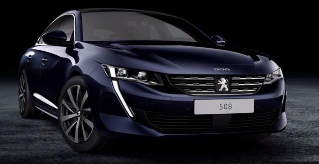 Peugeot 508 thế hệ mới cá tính hơn trước đây với nanh sư tử nổi bật - Ảnh 1.