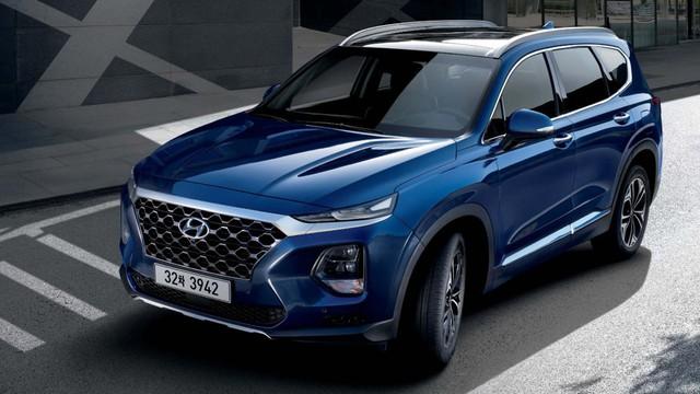 Chi tiết Hyundai Santa Fe thế hệ mới trước giờ ra mắt