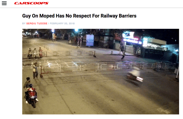 Tai nạn đường sắt ngày Tết tại Việt Nam lên báo nước ngoài - Ảnh 1.