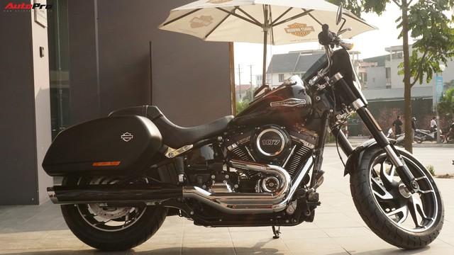[Video] Cận cảnh Harley-Davidson Sport Glide chính hãng đầu tiên tại Hà Nội - Ảnh 3.