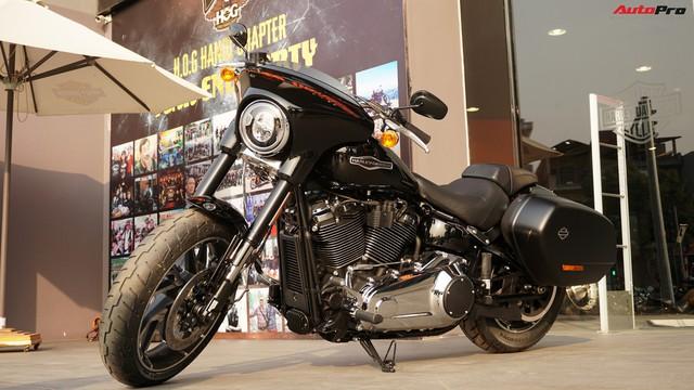 [Video] Cận cảnh Harley-Davidson Sport Glide chính hãng đầu tiên tại Hà Nội - Ảnh 15.