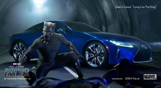 Black Panther có đủ sức giúp Lexus giải cơn khát vua xe sang tại Mỹ 7 năm qua? - Ảnh 6.
