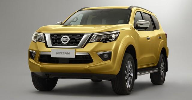 Đối thủ của Toyota Fortuner - Nissan Terra tiếp tục hé lộ hình ảnh mới - Ảnh 2.