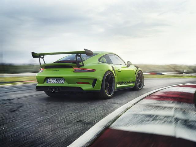 Xe đua thể thao Porsche 911 GT3 RS có giá gần 14 tỷ đồng tại Việt Nam - Ảnh 3.
