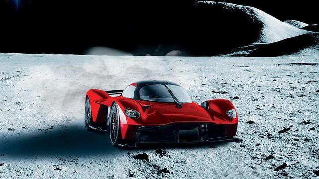 Khi người giàu chơi siêu xe: sử dụng bụi mặt trăng để sơn lên Aston Martin Valkyrie