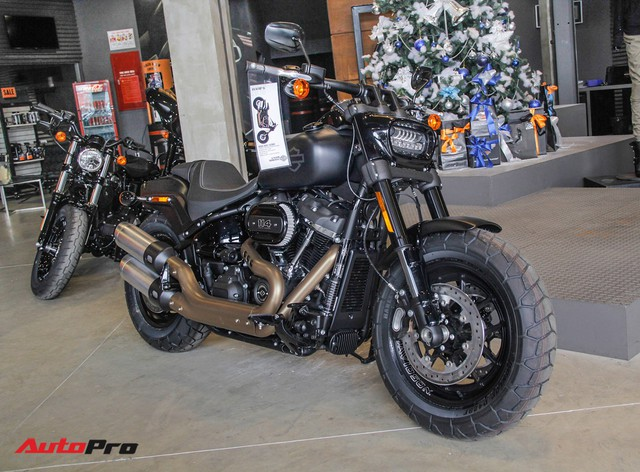 [Video] Cận cảnh Harley-Davidson Fat Bob 2018 giá gần 1 tỷ đồng tại Hà Nội - Ảnh 17.