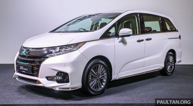 Cận cảnh Honda Odyssey 2018 vừa ra mắt Đông Nam Á - Ảnh 1.