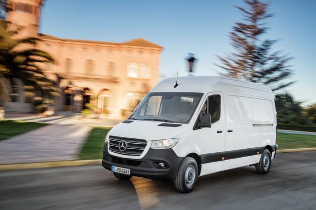 Mercedes-Benz Sprinter thế hệ mới chính thức trình làng - Ảnh 1.