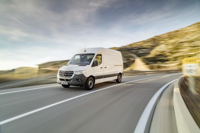 Mercedes-Benz Sprinter thế hệ mới chính thức trình làng - Ảnh 3.