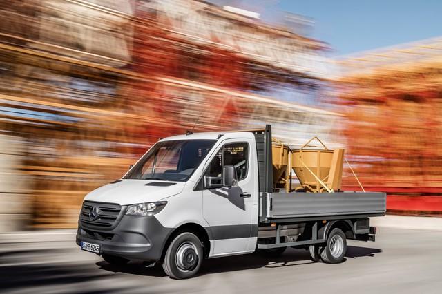 Mercedes-Benz Sprinter thế hệ mới chính thức trình làng - Ảnh 9.