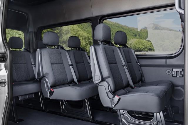 Mercedes-Benz Sprinter thế hệ mới chính thức trình làng - Ảnh 14.