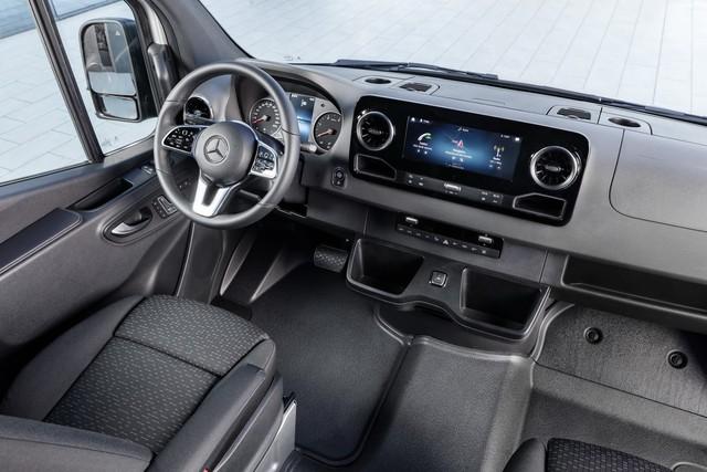 Mercedes-Benz Sprinter thế hệ mới chính thức trình làng - Ảnh 5.