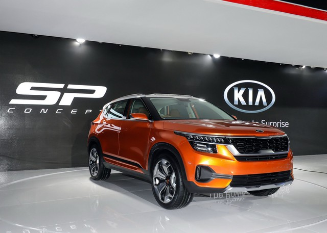 Kia SP Concept chính thức lộ diện - đối thủ của Ford EcoSport - Ảnh 1.
