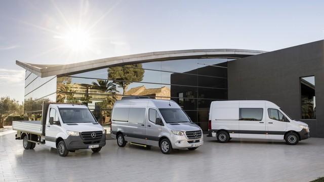 Mercedes-Benz Sprinter thế hệ mới chính thức trình làng