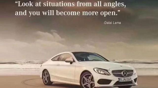 Mercedes-Benz gây bức xúc vì quảng cáo xe dẫn lời Đạt Lai Lạt Ma