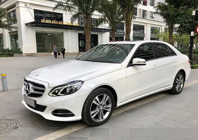 Mercedes-Benz E250 sau 3 năm sử dụng có giá ngang BMW 3-Series - Ảnh 1.