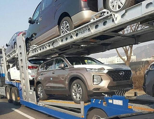 Hình ảnh thực tế và thông tin chi tiết đầu tiên về Hyundai Santa Fe 2019 - Ảnh 10.