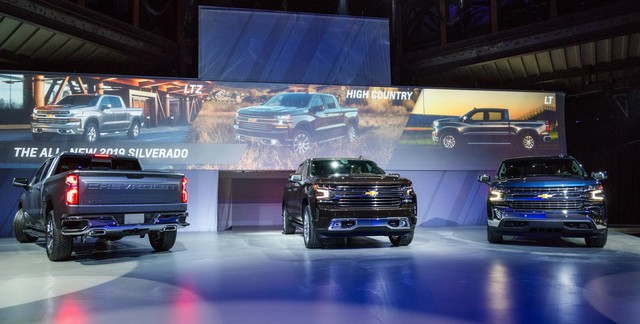 Chính thức ra mắt Chevrolet Silverado 2019 - Nguời anh cả của Colorado - Ảnh 3.