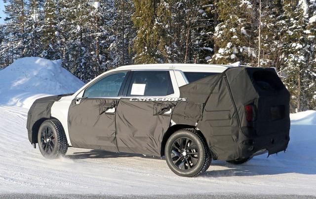 Hyundai chạy thử mẫu SUV cỡ lớn đầu tiên - đàn anh Santa Fe 2019 - Ảnh 4.