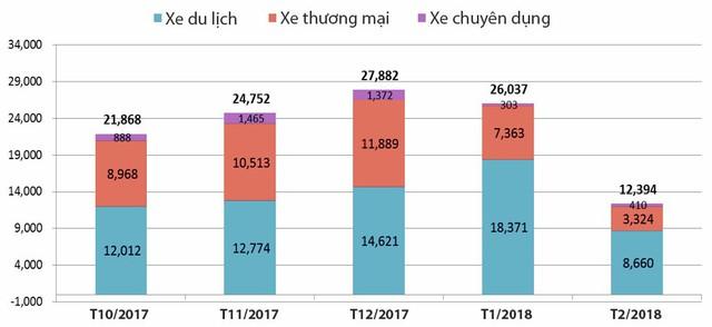 Thị trường xe Việt rơi tự do trước thời điểm bùng nổ - Ảnh 1.