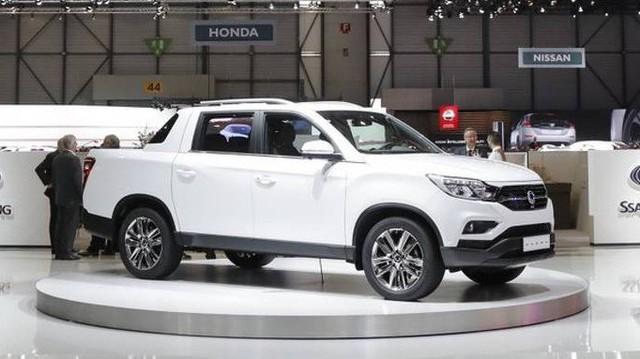Chi tiết SsangYong Musso 2018 - Đối thủ mới của Ford Ranger
