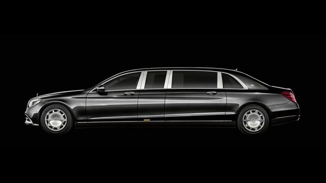 Sắp ra mắt Mercedes-Maybach Pullman 2019 - limo cho giới thượng lưu - Ảnh 1.