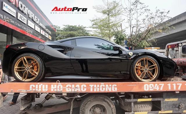 Đại gia Hà Nội tậu Ferrari 488 GTB màu đen độc nhất Việt Nam - Ảnh 5.