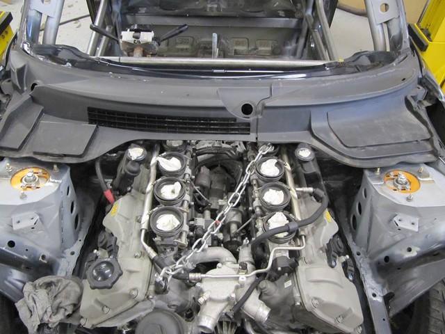 Thợ độ nhấc máy BMW V8 sang MINI Cooper, thay cả hệ dẫn động lẫn hộp số - Ảnh 8.