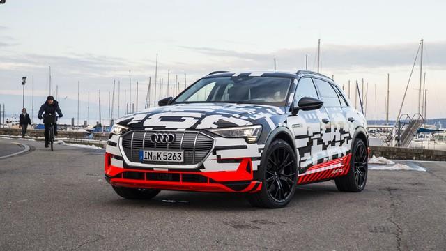 Audi chuẩn bị ra mắt đối thủ nặng ký của Tesla Model S - Ảnh 1.